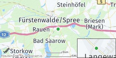 Google Map of Langewahl
