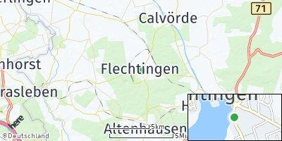 Google Map of Flechtingen