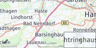 Google Map of Wichtringhausen