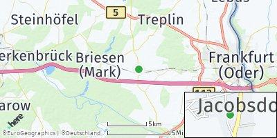 Google Map of Jacobsdorf
