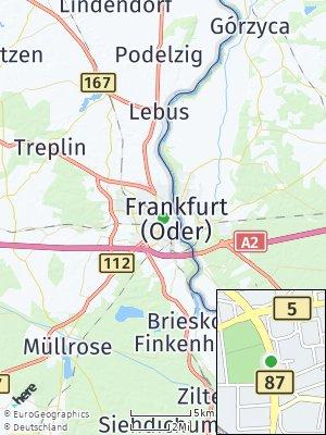 Here Map of Frankfurt