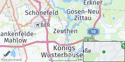Google Map of Zeuthen