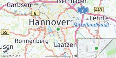 Google Map of Waldheim