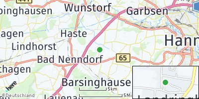 Google Map of Landringhausen