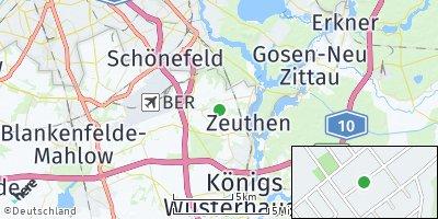 Google Map of Schulzendorf
