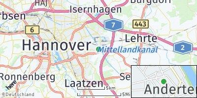 Google Map of Anderten