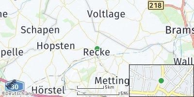 Google Map of Recke