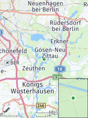Here Map of Schmöckwitz
