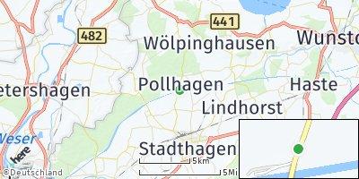 Google Map of Pollhagen