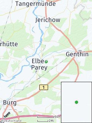 Here Map of Elbe-Parey