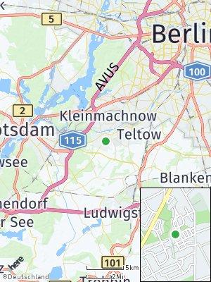 Here Map of Stahnsdorf