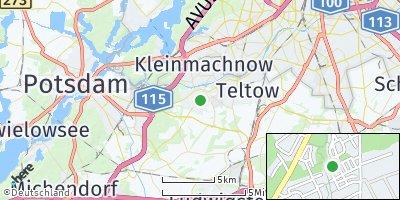 Google Map of Stahnsdorf