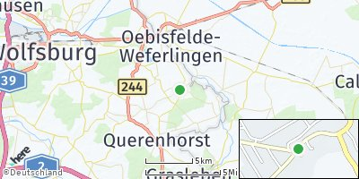 Google Map of Bahrdorf