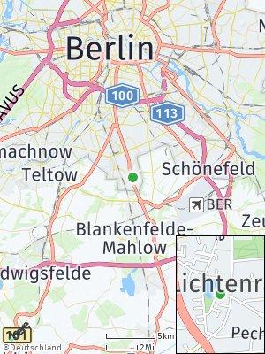 Here Map of Lichtenrade