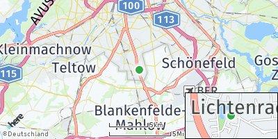 Google Map of Lichtenrade