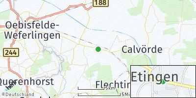 Google Map of Etingen