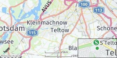 Google Map of Teltow
