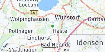 Google Map of Idensen