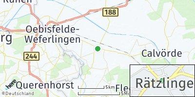 Google Map of Rätzlingen