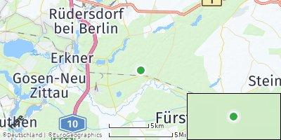 Google Map of Grünheide