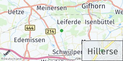 Google Map of Hillerse
