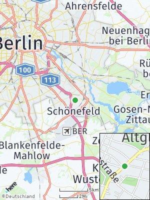 Here Map of Altglienicke