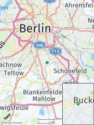 Here Map of Buckow