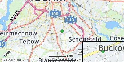 Google Map of Buckow