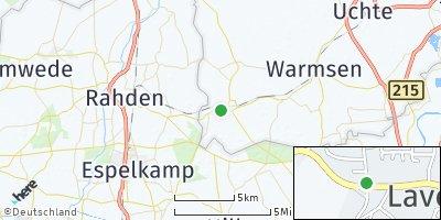 Google Map of Diepenau