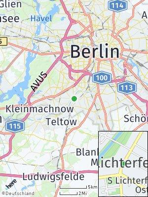 Here Map of Lichterfelde