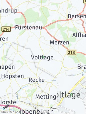 Here Map of Voltlage
