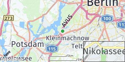 Google Map of Nikolassee