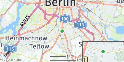 Google Map of Mariendorf