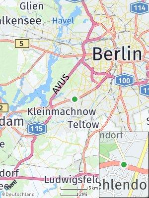Here Map of Zehlendorf