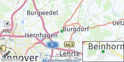 Google Map of Beinhorn