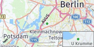 Google Map of Steglitz-Zehlendorf