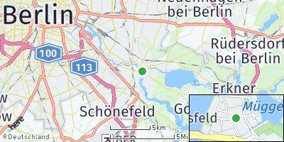 Google Map of Köpenick