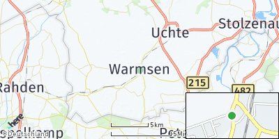 Google Map of Warmsen
