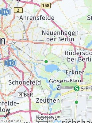 Here Map of Friedrichshagen