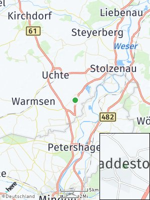 Here Map of Raddestorf