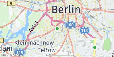 Google Map of Steglitz