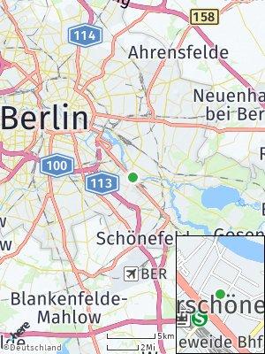 Here Map of Niederschöneweide