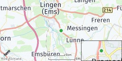 Google Map of Bramsche