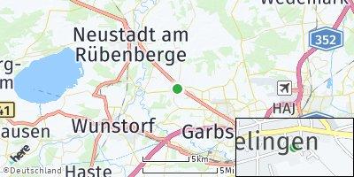 Google Map of Frielingen bei Wunstorf