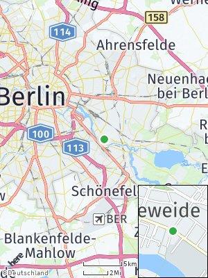 Here Map of Oberschöneweide