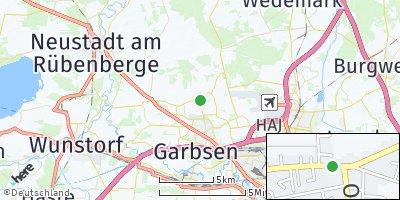 Google Map of Osterwald Oberende