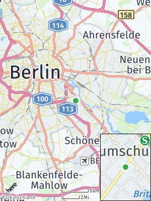 Here Map of Baumschulenweg