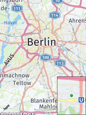 Here Map of Tempelhof