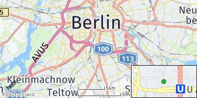 Google Map of Tempelhof