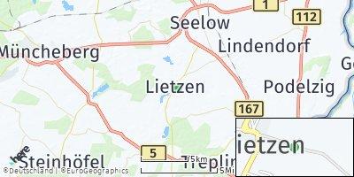Google Map of Lietzen